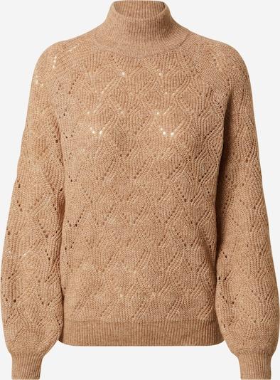 OBJECT Sweter w kolorze jasnobrązowym: Widok z przodu