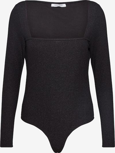 GLAMOROUS Majica | črna barva: Frontalni pogled