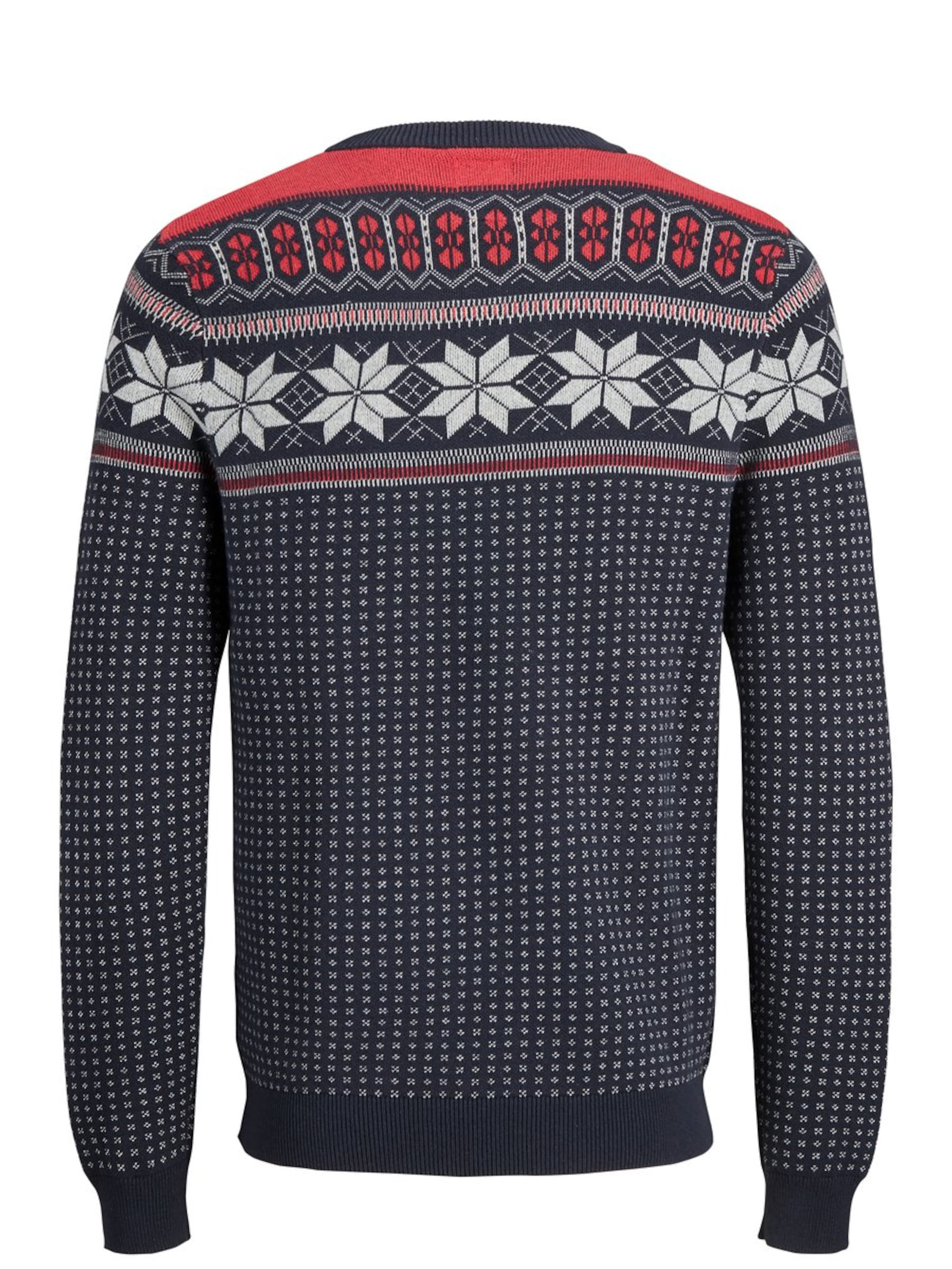 Produkt In NavyTaupe Pullover 'grandad' Rot orBeCWQdx