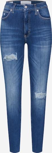 Calvin Klein Jeans Jeans in blue denim: Frontalansicht