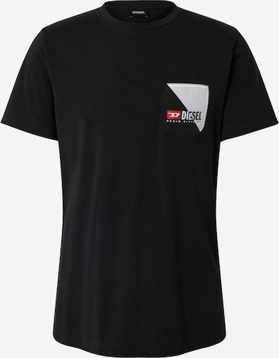 DIESEL Shirt 'DIEGO' in de kleur Zwart, Productweergave