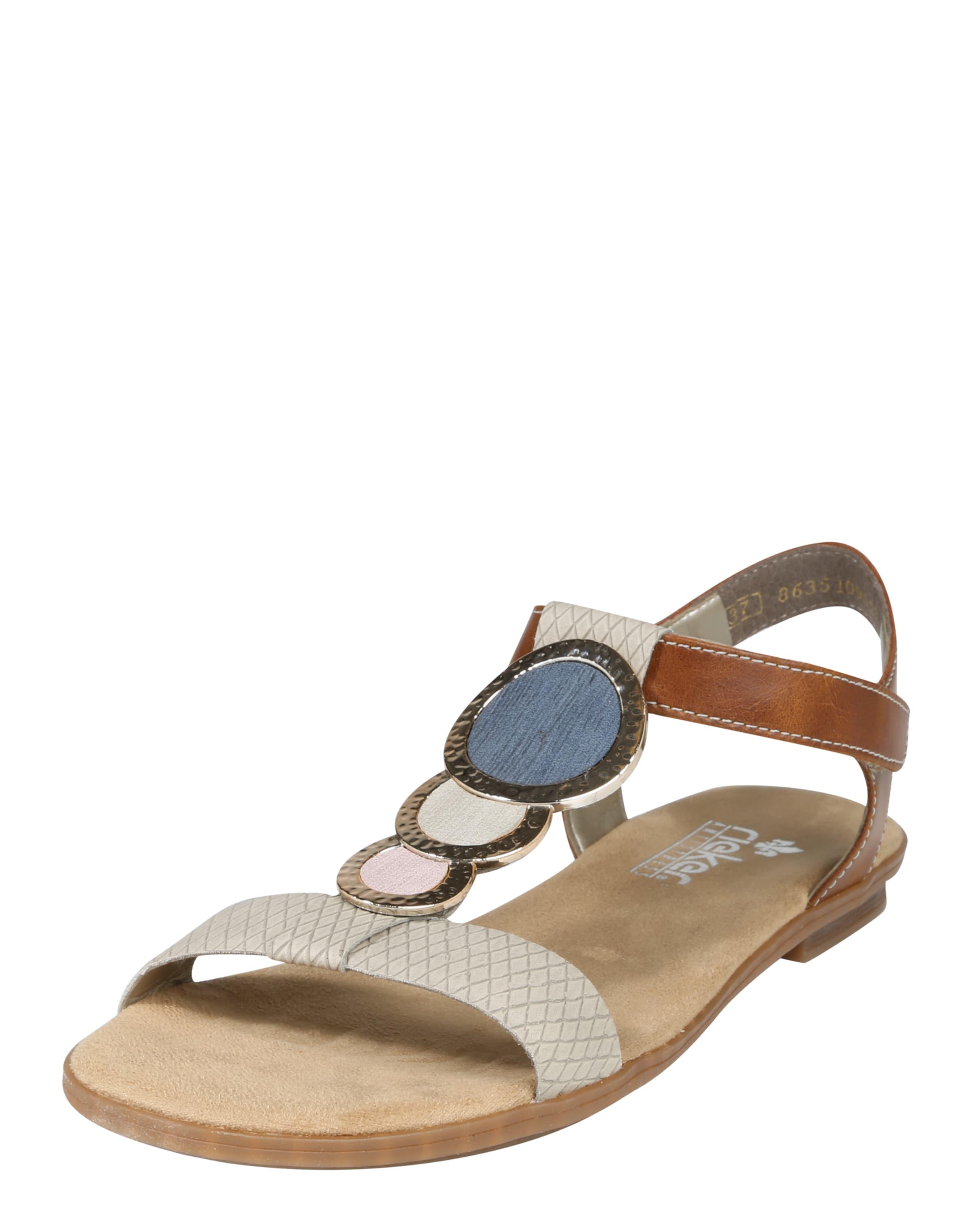 RIEKER Sandale mit Dekosteinen Qualität Outlet-Store Rabatt Großhandelspreis VPUDE1Z2