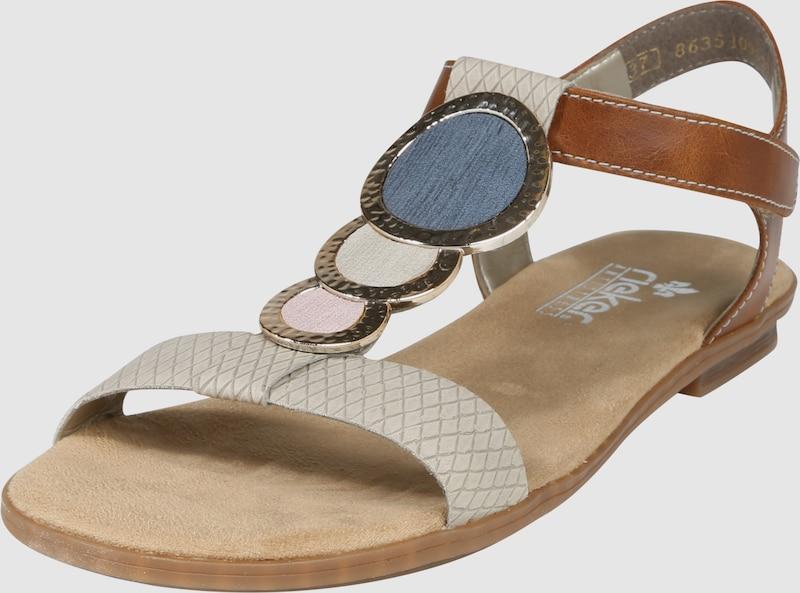 RIEKER Sandale mit Dekosteinen
