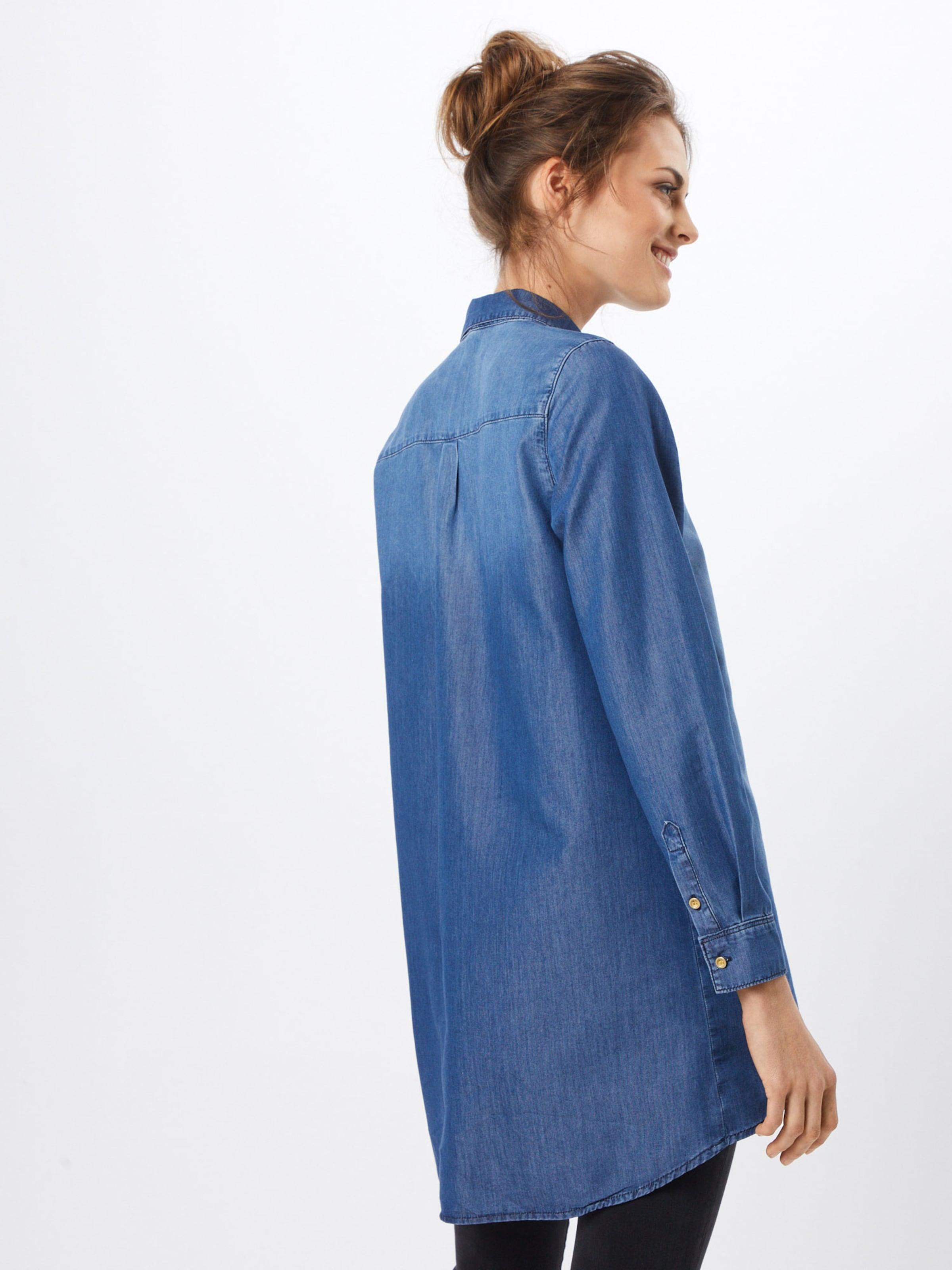 Bluse 'blessing' Aus Denim Fritzi Preußen Blue In y8OmNnvw0