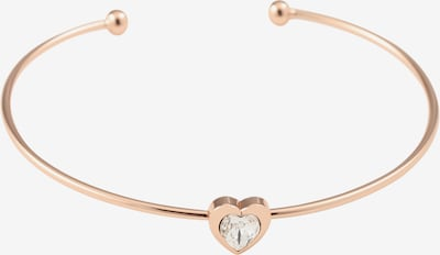 Ted Baker Armband 'HASINA: CRYSTAL HEART ULTRA FINE CUFF' in rosegold, Produktansicht