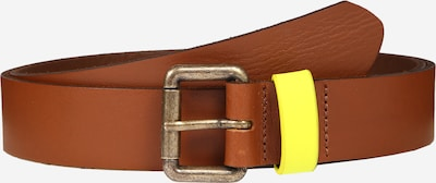 PIECES Ledergürtel 'PCANNI LEATHER  BELT KAC' in cognac, Produktansicht