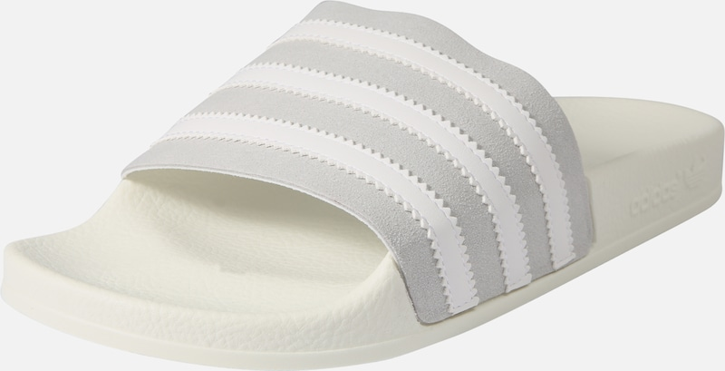 Adidas Gris Clair En Blanc ClaquettesTongs Originals 'adilette' gYf6yb7