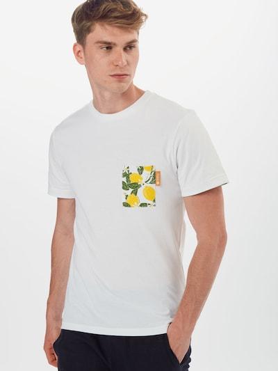 Degree T-Shirt en blanc: Vue de face