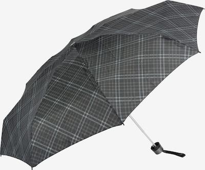 KNIRPS Parapluie 'T.010 Small Manual' en gris / noir, Vue avec produit