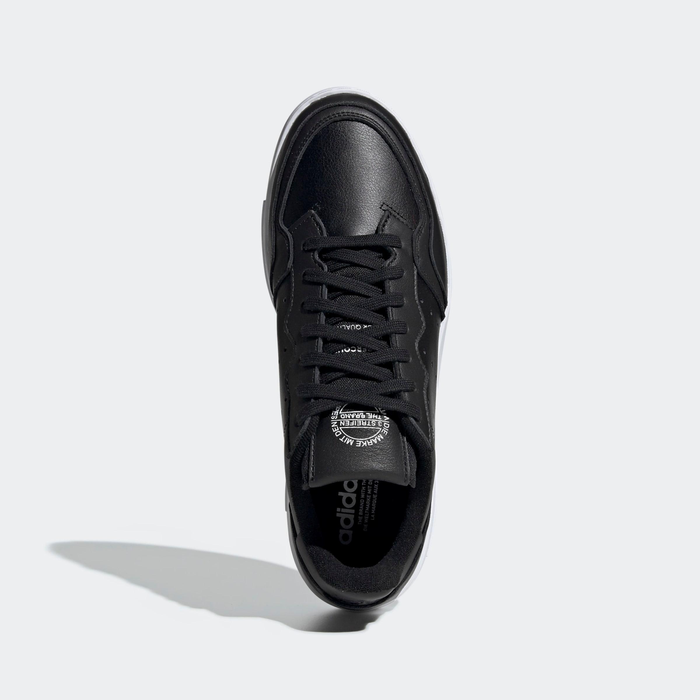 ADIDAS ORIGINALS Låg sneaker 'Supercourt' i svart