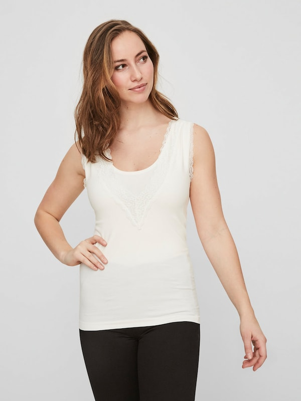 Mamalicious Still-blouse Without Sleeves Jersey