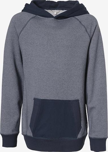 REVIEW FOR TEENS Sweatshirt in rauchblau / nachtblau, Produktansicht