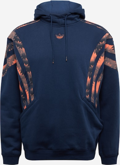 ADIDAS ORIGINALS Sweatshirt in navy / dunkelorange, Produktansicht
