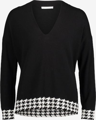 Betty & Co Strickpullover in schwarz / weiß, Produktansicht