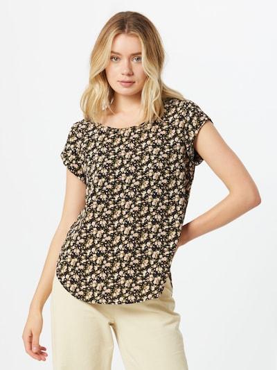 ONLY Bluse i grøn / lyserød / sort, Modelvisning