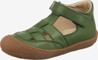 NATURINO Sandale in grasgrün, Produktansicht