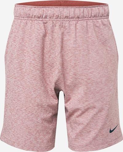 NIKE Sportbroek in de kleur Beige / Nachtblauw / Pastelrood, Productweergave
