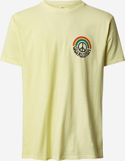 QUIKSILVER Funkční tričko 'OGRAINBOWSS' - krémová / slonová kost / žlutá, Produkt