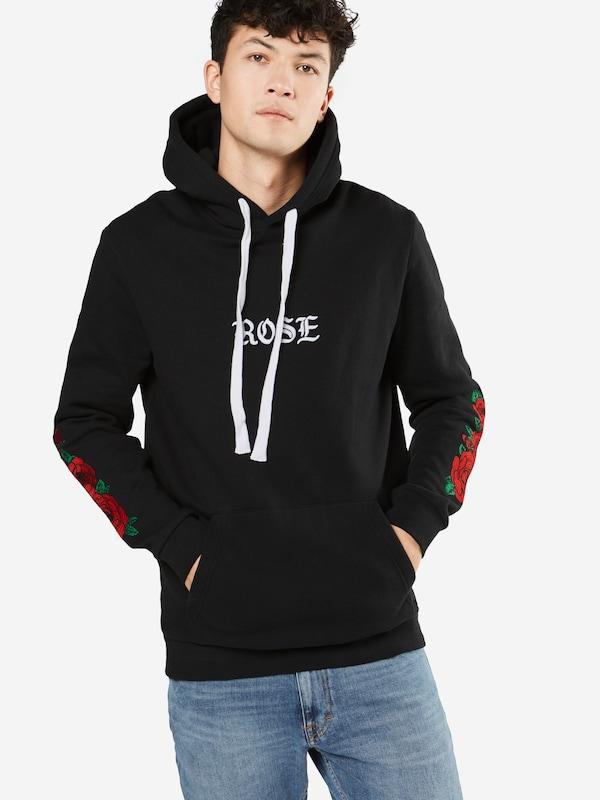 YOURTURN Sweater 'Rose Pablo Print Hoody'