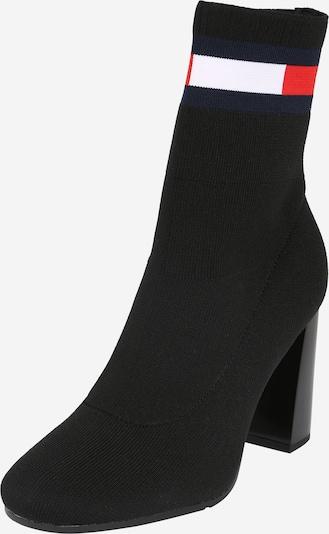 Tommy Jeans Stiefelette 'SOCK HEELED BOOT' in schwarz, Produktansicht