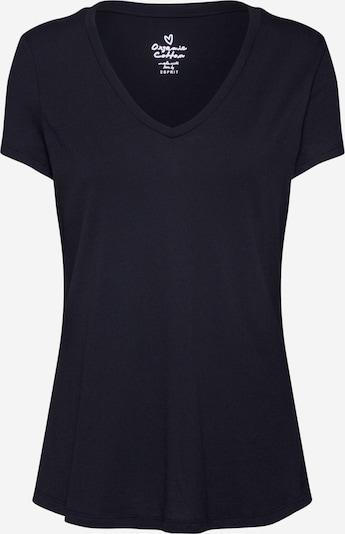 ESPRIT Shirt  'OCS vneck 2-1' in schwarz, Produktansicht