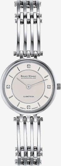 Bruno Söhnle Uhr 'Latina 2 17-13103-242' in silber / transparent / perlweiß, Produktansicht
