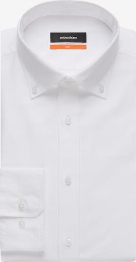 Dalykinio stiliaus marškiniai iš SEIDENSTICKER , spalva - balta, Prekių apžvalga