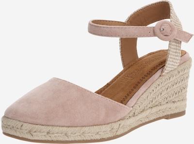 Refresh Sandalen met riem in de kleur Nude, Productweergave