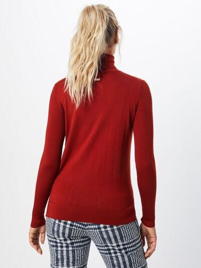 HUGO Sveter 'Sedenn' - hrdzavo červená: Pohľad zozadu