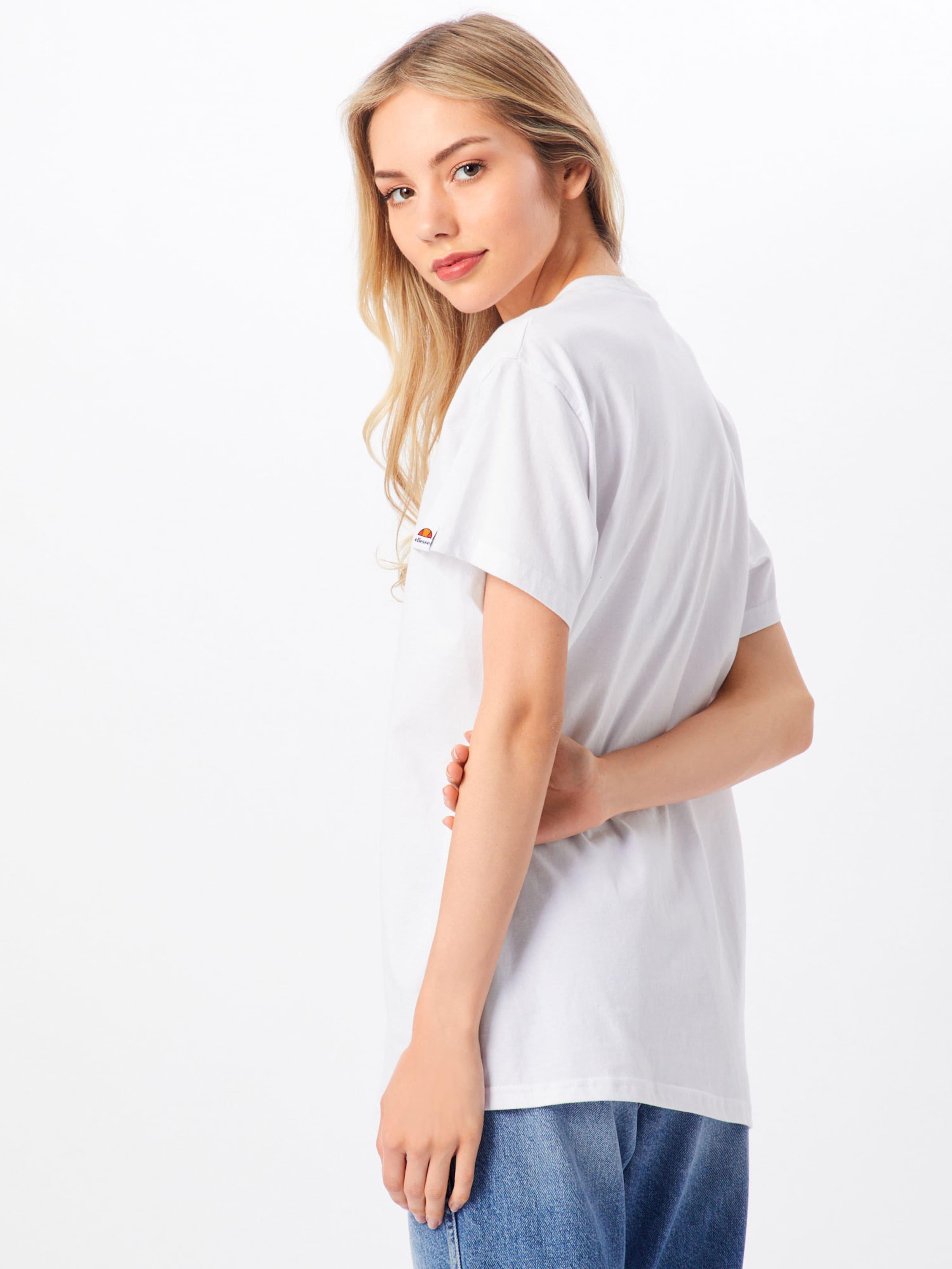 shirt T 'lotus' Blanc En Ellesse 2DEIH9