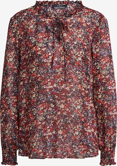 SET Bluse in nachtblau / hellblau / pastellgelb / lila / orange / feuerrot, Produktansicht