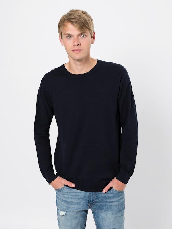 Scotchamp; Fit' En Bleu Cotton 'ams Regular Pull Knit over Soda In Cashmere Foncé Blauw wON8k0nXP