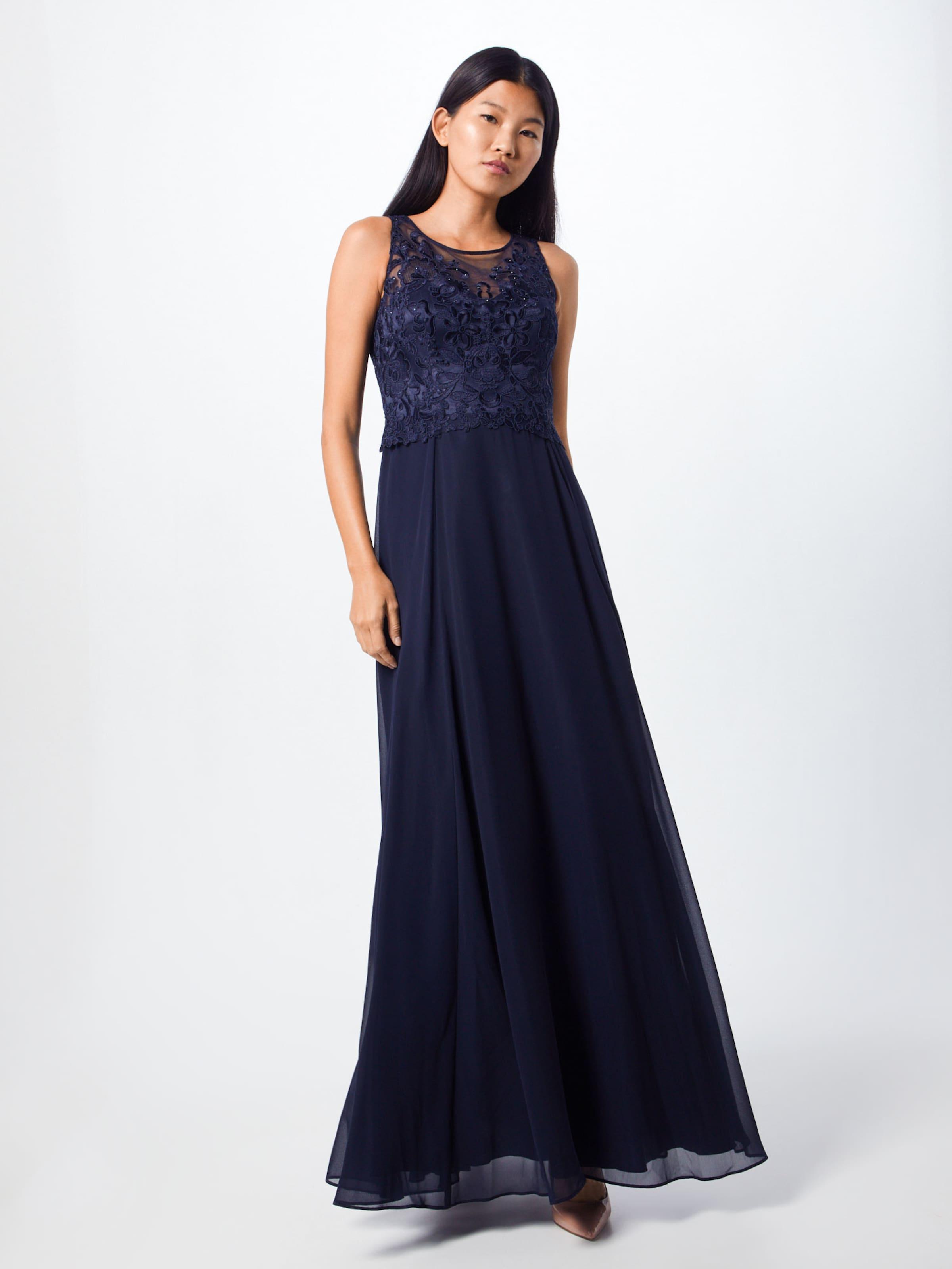 Vera Mont En De Soirée Bleu Robe Foncé OPnw0k