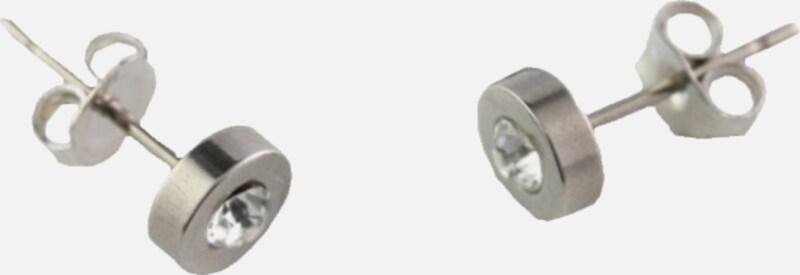 """FIRETTI Paar Ohrstecker """"basic"""" Ø ca. 6 mm mit Swarovski-Kristall"""