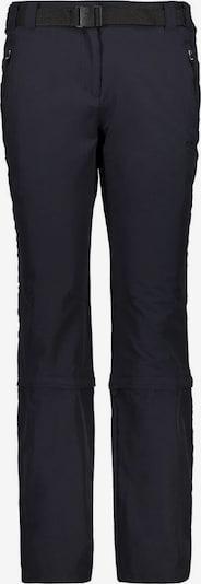CMP Damen Trekking 3/4 Zipp Off Hose ' WOMAN STRETCH LONG PANT ZIP ' in anthrazit, Produktansicht