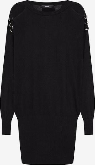 DIESEL Jurk 'M-MERS DRESS' in de kleur Zwart, Productweergave