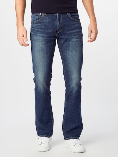 LEVI'S Jeans '527™' in blue denim, Modelansicht