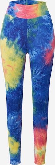 Urban Classics Leggings 'Tie Dye' en mélange de couleurs, Vue avec produit