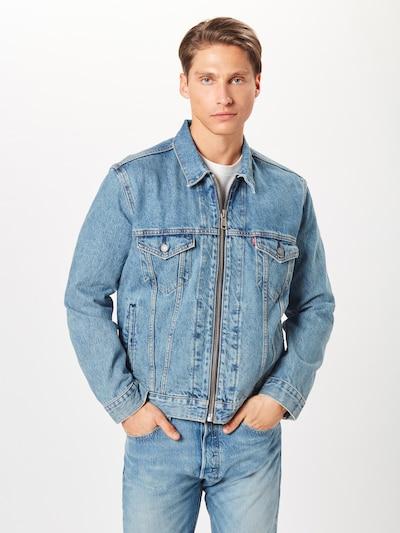 LEVI'S Přechodná bunda 'ZIPTYPE3TRUCKER' - modrá džínovina, Produkt