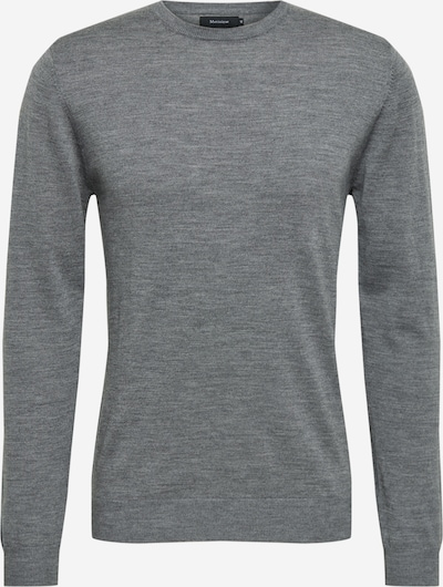 Matinique Pull-over 'Margrate Merino' en gris chiné: Vue de face