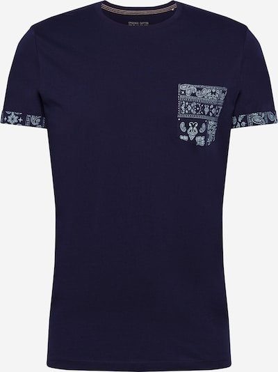 ESPRIT Shirt in de kleur Navy / Wit, Productweergave