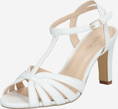 ABOUT YOU Sandalen met riem 'Sienna' in de kleur Wit, Productweergave