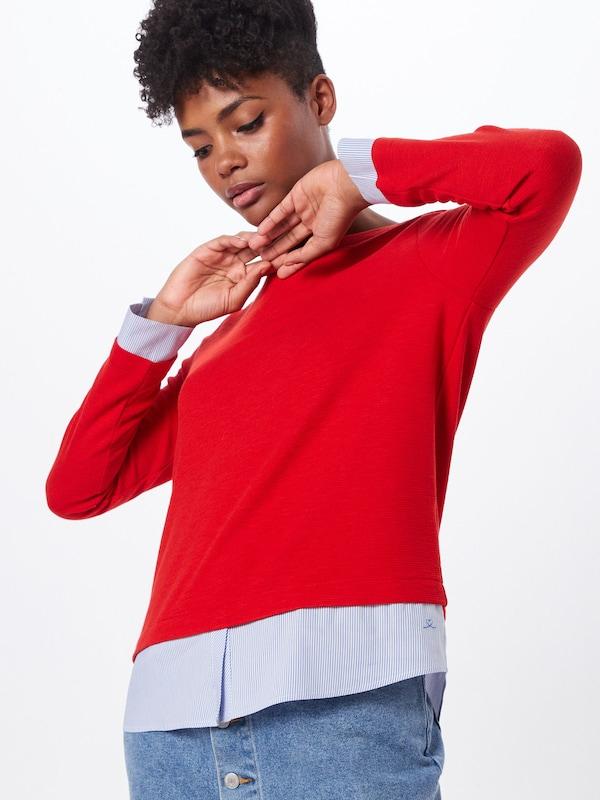 Red shirt En Label S Sweat oliver Rouge H9D2IWE