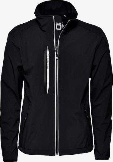 CODE-ZERO Softshell-Jacke 'HALYARD' in schwarz, Produktansicht