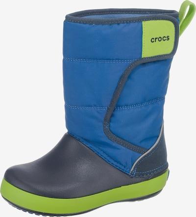 Crocs Winterstiefel 'LodgePoint' in blau / nachtblau, Produktansicht