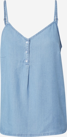 VERO MODA Top in blue denim, Produktansicht