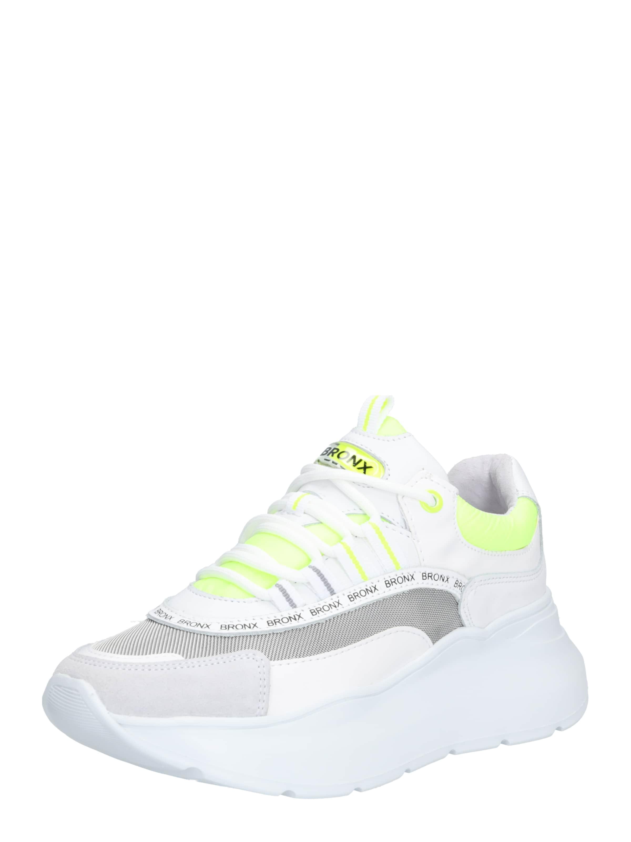 'grayson' Bronx In GelbGrau Sneaker Weiß XikuOPZT