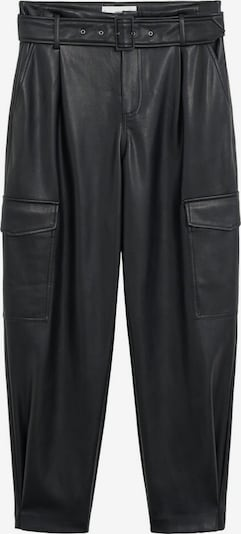 MANGO Pantalon à plis 'Ryder' en noir, Vue avec produit