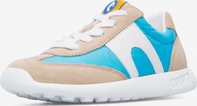 CAMPER Sneakers 'Driftie' in de kleur Camel / Neonblauw / Wit, Productweergave