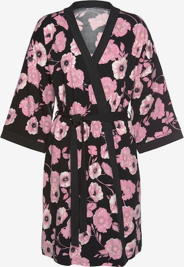 LASCANA Dressing gown in Pink / Black, Item view
